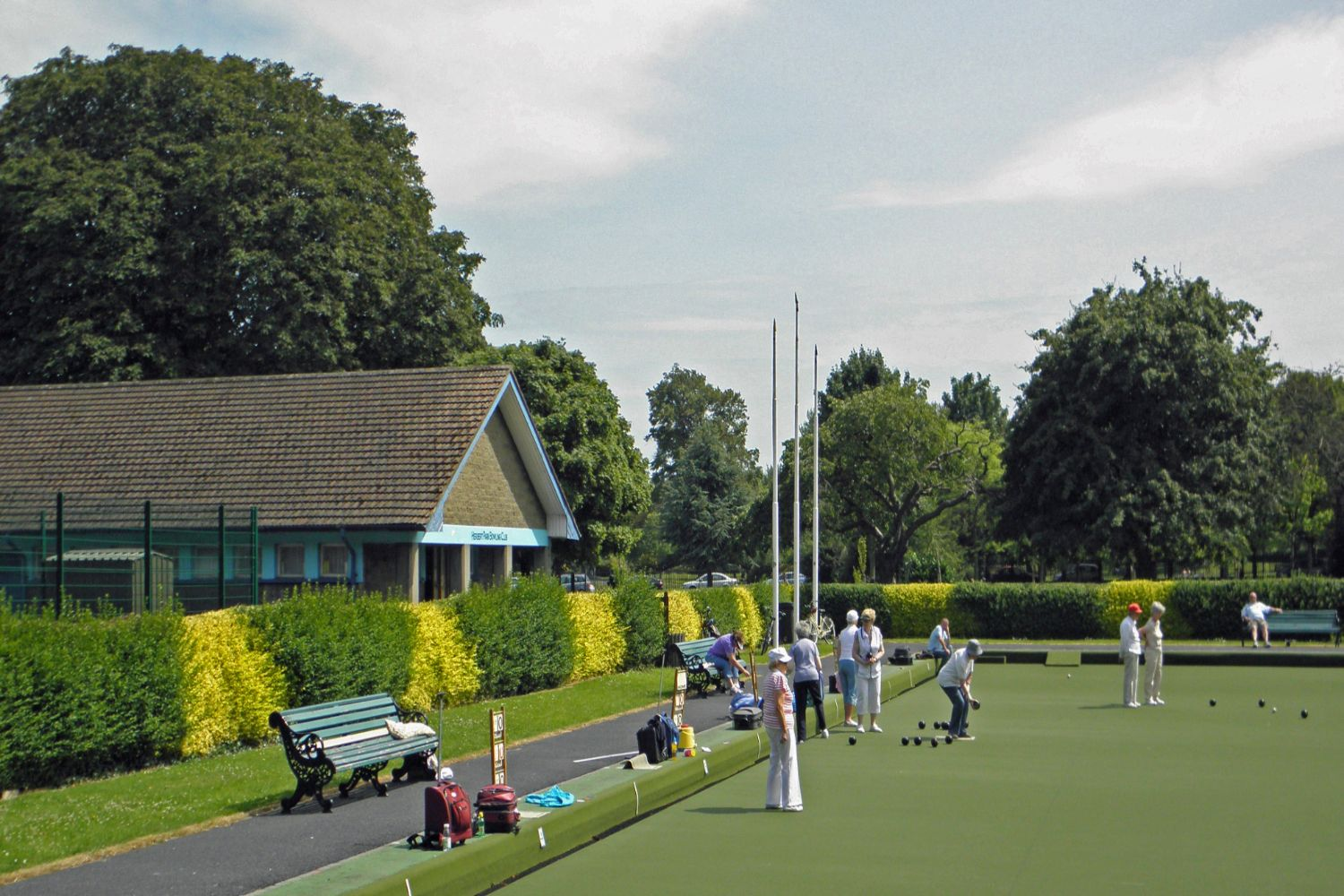 Bowling in Herbert Parkabcp