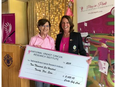 Pink Day Cheque Handover