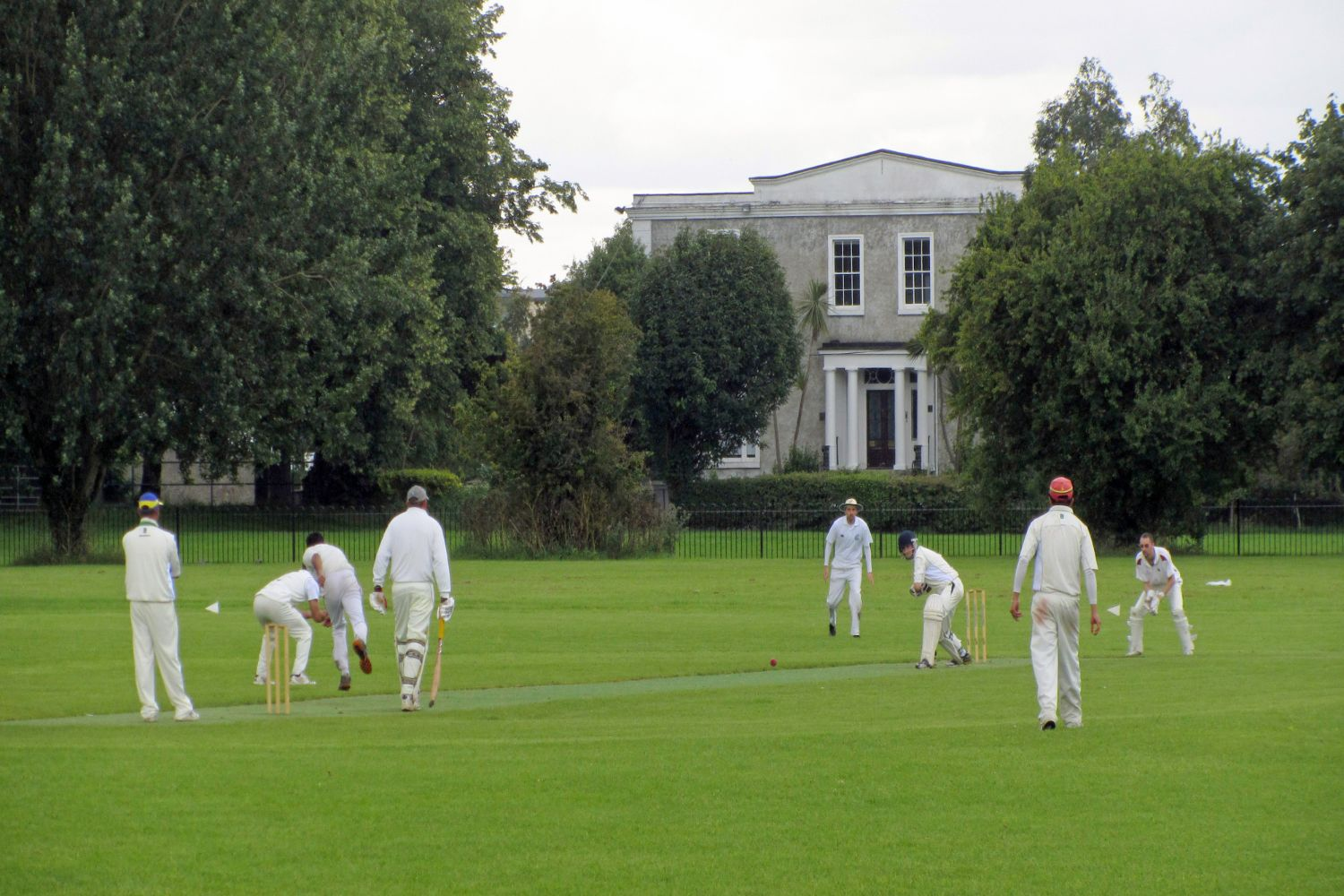 cricket match in Clonskeagh (p)