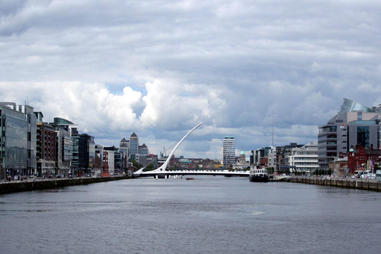 River Liffey view (2)