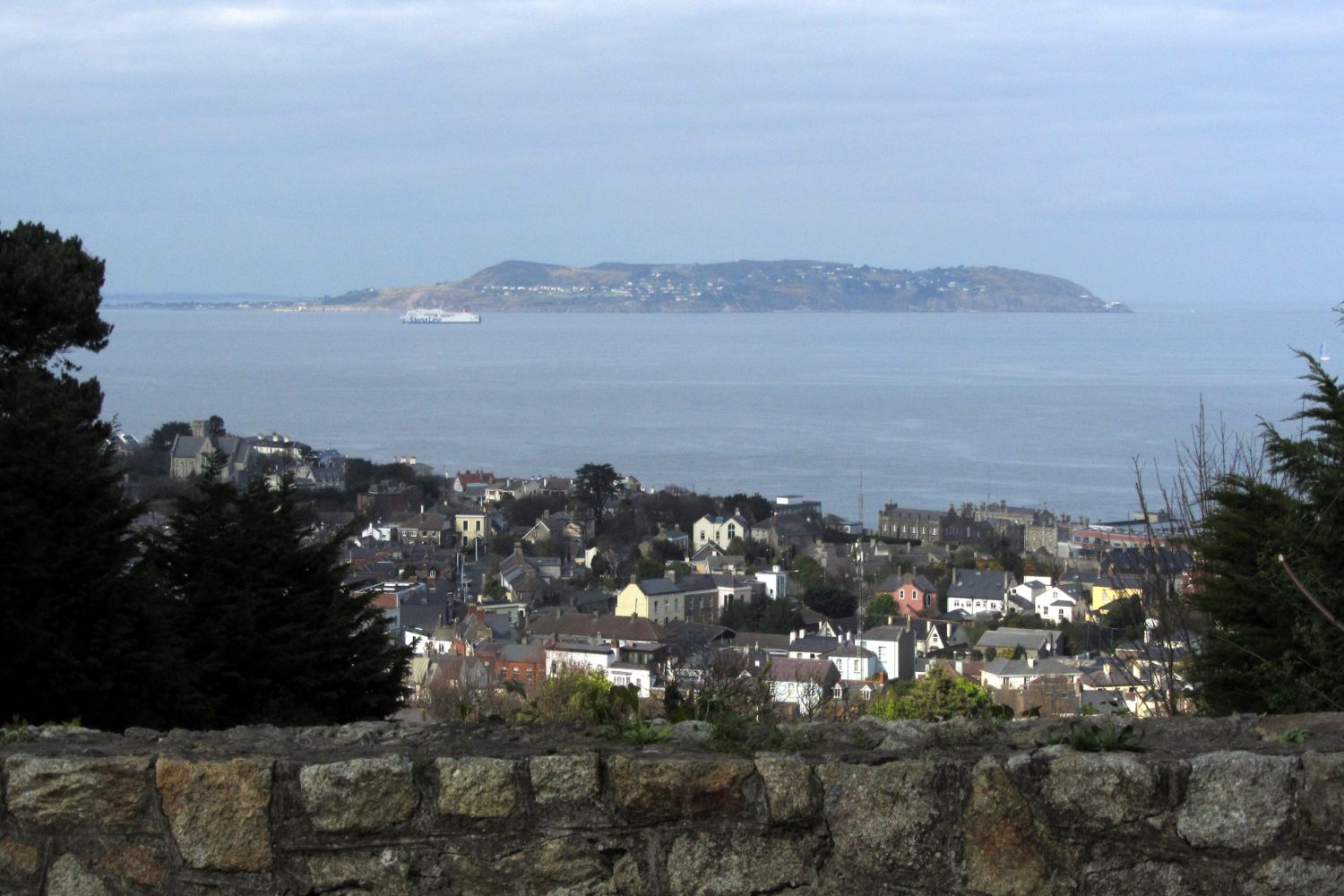 Dublin Bay view from Dalkey